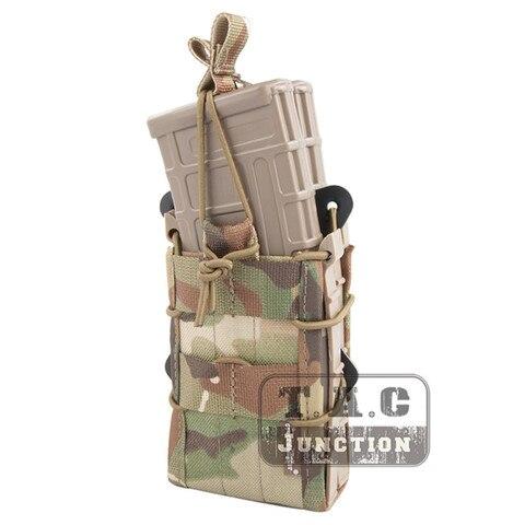 Bolsa para 5.56 Emerson Duplo Rifle Modular m4 M16 Ar15 Sr52 P-mags M1a1 g3 Emersongear Molle Revista Bolsa Portador Mag