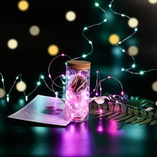Zhongji Wedding Party Led Lights Decoration Christmas String Fairy Lights Decorative LED Lights Outdoor Copper Wire String Light недорого