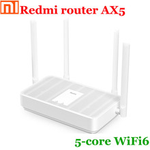 New original Xiaomi Redmi router AX5 Qualcomm 5-core chip/4 independent amplifiers/fast