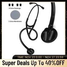 רפואי הקרדיולוגים סטטוסקופ לב Ductor אחות phonendoscope מקצועי יחיד ראש רפואי האזנה מכשיר ציוד