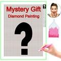 HOMFUN Foto Nach Geheimnis Diamant Malerei 5D DIY Mysterious Bild von Strass Diamant Stickerei 3D Kreuz Stich Geschenk