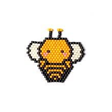 Fairywoo 10 шт/лот Миюки бисер подвеска медовая пчела шармы