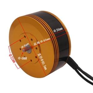 Image 3 - 8015 KV140/KV160 Brushless מנוע מיוחד לגדול עומס Mulit ציר חקלאי הגנה Drone