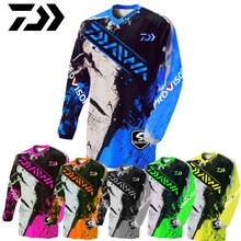 купить Daiwa Summer Anti-uv Sun Fishing Jersey Breathable Quick Dry Fishing Spring Long-sleeve Fishing Clothes Clothing Fishing Shirt дешево