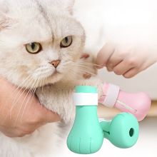 Cat Claw Cover Anti-biting Bath Washing Nails Cover 4pcs for Pet Cat Paw Protector Anti-Scratch Cat Shoes Boots Pet Supplies