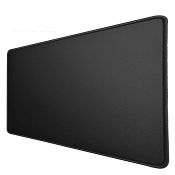 900*400*3mm Black Mouse Pad XL Locking Stitched Edges Non-Slip Gaming Gamer Laptop Mousepad Rubber Large Desk cushion Mat