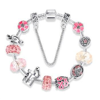 GB001 Spot Girl Bead Bracelet DIY Valentine's Day Gift Ball Jewelry