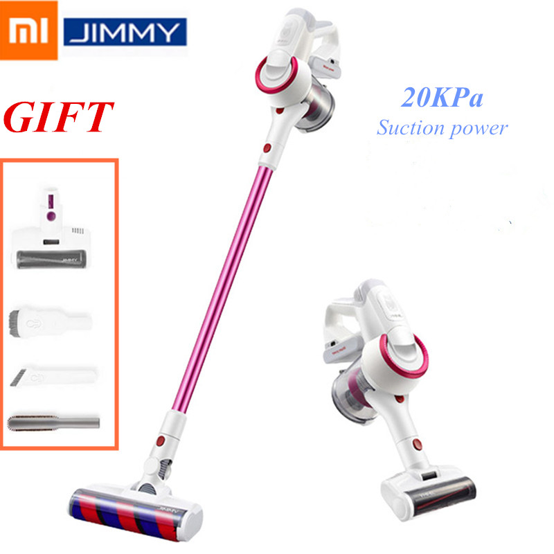 01 JIMMY JV53 Handheld Cordless Vacuum Cleaner 20KPa Effective Suction Power Carpet Sweep Clean Home Wireless Dust Collector
