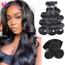 YuYongtai Hair Brazilian Body wave Hair Weave Bundles 100% Human Hair Weave 1/3 Piece 8-30
