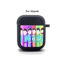 Anime Osomatsu San Cartoon Airpods Case Protective Cover Bluetooth Airpods 1 2 Headphone case Earphone Soft Silicone Case
