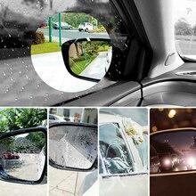 Film imperméable pour voiture, 2/6 pièces, Membrane de protection pour rétroviseur, Anti-brouillard, accessoires autocollants