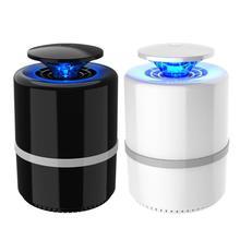 5 Вт бытовой умный москитный репеллент USB комаров убийца лампа моли муха ловушка для ОС светодиодный ночник