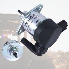 Замена стоп соленоида безопасности аксессуары 1C010-60015 топлива отключение аварийный алюминиевый сплав для Kubota M6800 M8200 M8540