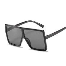 Oversized Sunglasses Luxury Brand Eyewear Mirror Frame Girls Kids Children Fashion Gradient