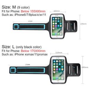 5   7 дюймов держатель для телефона для тренажерного зала, бега, чехол на руку, сумка для телефона, спортивные чехлы на руку для iPhone 12 Pro Max 11 x xr xs 6 7 8 plus|Крепления на руку|   | АлиЭкспресс