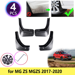 for MG ZS MGZS 2017 2018 2019 2020 Mudguards Mudflap Fender Mud Flaps Splash Guards Car Accessories Front Rear Wheel 4 PCS Flap