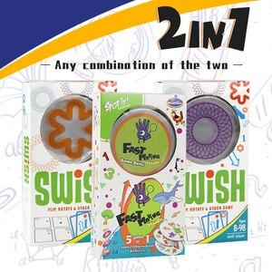 Image 2 - היגיון משחק סוויש כיף שקוף חינוך כרטיס משחק היגיון משחקים לילדים משחק כרטיסי ספוט לוח משחקי צעצועים לילדים