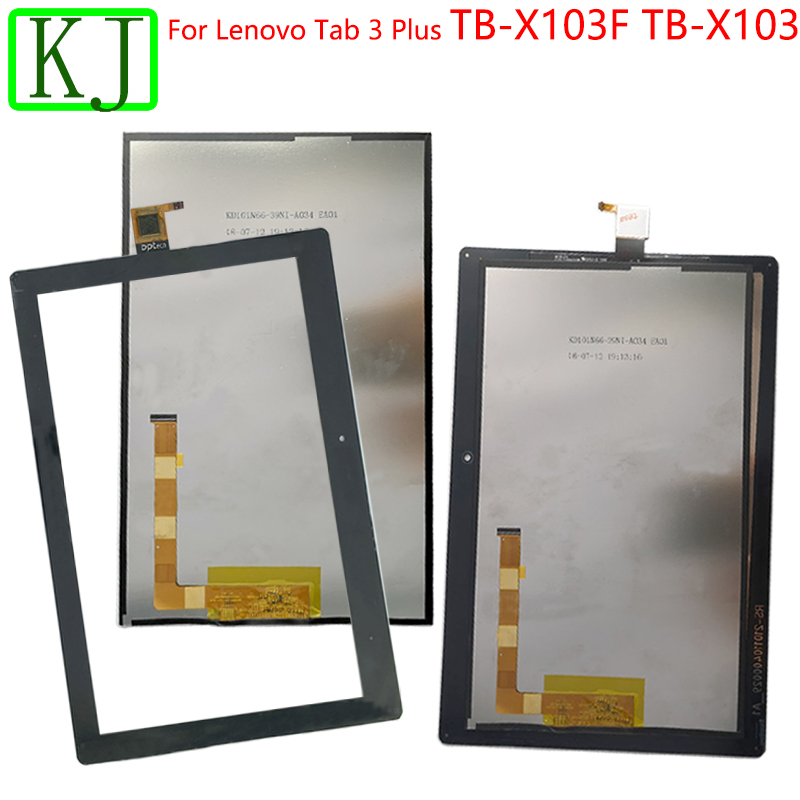 LCD Tab For Lenovo Tab 3 Plus TB-X103F TB-X103 X103 LCD Display + Touch Screen Digitizer Panel