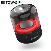 BlitzWolf BW-AS4 20W Portable sans fil bluetooth haut-parleur RGB lumière BT 5.0 stéréo musique Surround TWS fonction sans fil haut-parleurs
