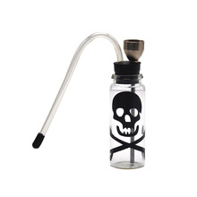HORNET Glass Bottle Smoking Water Pipe Portable Tobacco Pipe