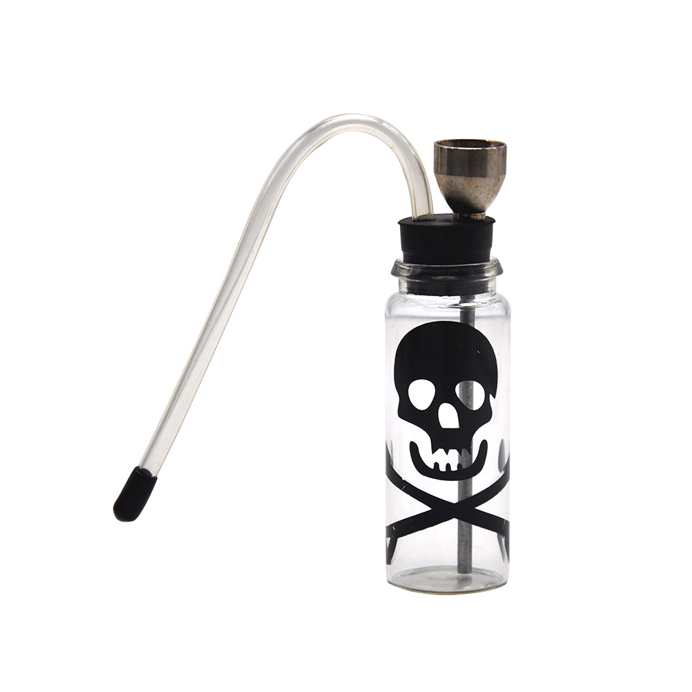 HORNET Glass Water Pipe Portable Tobacco Smoking Pipe Herb Smoke Pipe Mini Hookah Shisha Accessories-in Shisha Pipes & Accessories from Home & Garden