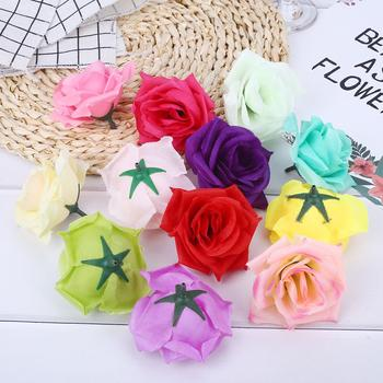 Beautiful Emulational Flower Ornament Foam Colorful Gift Floral Decor Decorating Wedding Valentine'S Day 12 Color image