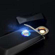 Индукционная Вольфрамовая Зажигалка smart touch ультратонкая