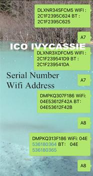 Dla ipada iCloud odblokuj numer seryjny SN A6 A7 A8 A9 A10 dla iPad 2 3 4 5 6 7 Air1 Air2 mini1 mini2 mini3 numer seryjny adres Wifi tanie i dobre opinie ICO IVYCASSIE CN (pochodzenie) Nowy Układy scalone logiczne A5 A6 A7 A8 A9 A10 Telefon komórkowy 0-200 1 5-5V 0 5W Guangdong China (Mainland)
