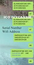 Para ipad icloud desbloquear serial não. Sn a6 a7 a8 a9 a10 para ipad 2/3/4/5/6/7/air1/air2/mini1/mini2/mini3 número de série endereço wi-fi