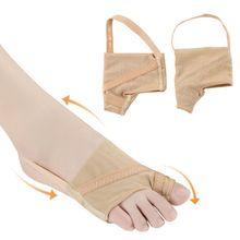 цена на Bunion Corrector Unisex Big Toe Aligner Straightener Separator Splint Brace for Hallux Valgus Pain Relief With Non-Slip Bandage