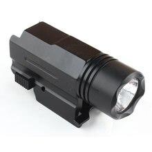 Страйкбольный мини фонарь для пистолета qd quick detach handgun