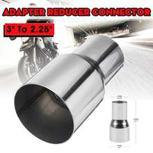 Pipe-Tip Exhaust-Reducer-Connector Car Trim-Muffler Rear-Tail-Tube Universal -2.5-3--2.25-3-