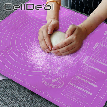 45x60cm Silicone Pad Baking Mat Sheet Extra Large for Rolling Dough Pizza Non-Stick Maker Holder Kitchen Tools - discount item  47% OFF Kitchen,Dining & Bar