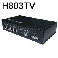 Comprar https://ae01.alicdn.com/kf/H746306e8e975439899e74a640da7fb16p/Controlador maestro H803TV LED compatible con 400000 píxeles DMX SPI controlador de transmisión en directo ordenador.jpg