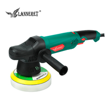 LANNERET 900W 6 inches Electric Polisher Variable Speed Dual Action Shock and Polishing Machine Car