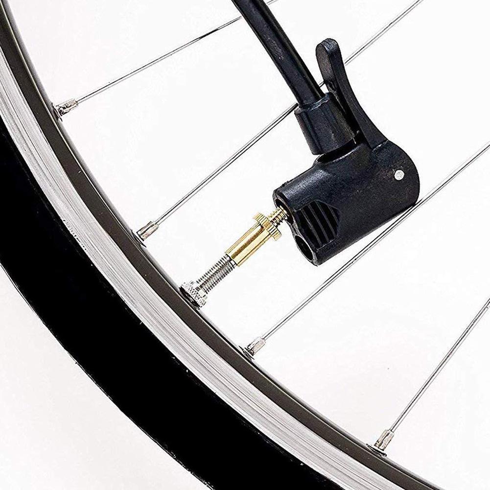 Suszian 24pcs V/álvula de Bicicleta SV AV DV Adaptador de Bicicleta al Adaptador de v/álvula de Coche Anillo de Sellado Adaptador de Bomba de Bicicleta Accesorios de Bicicleta