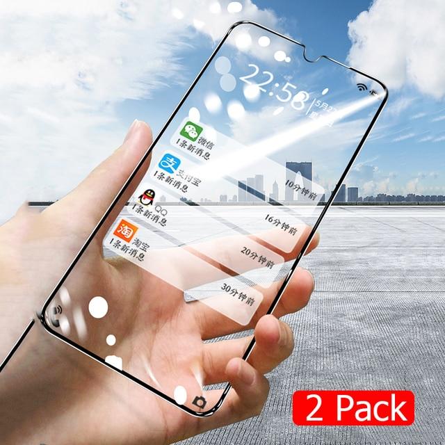 Paquet de 2 verre trempé pour Xiaomi Redmi Note 8 Pro 8T Film de protection décran anti-déflagrant pour Xiomi Redmi Note 8 Note8