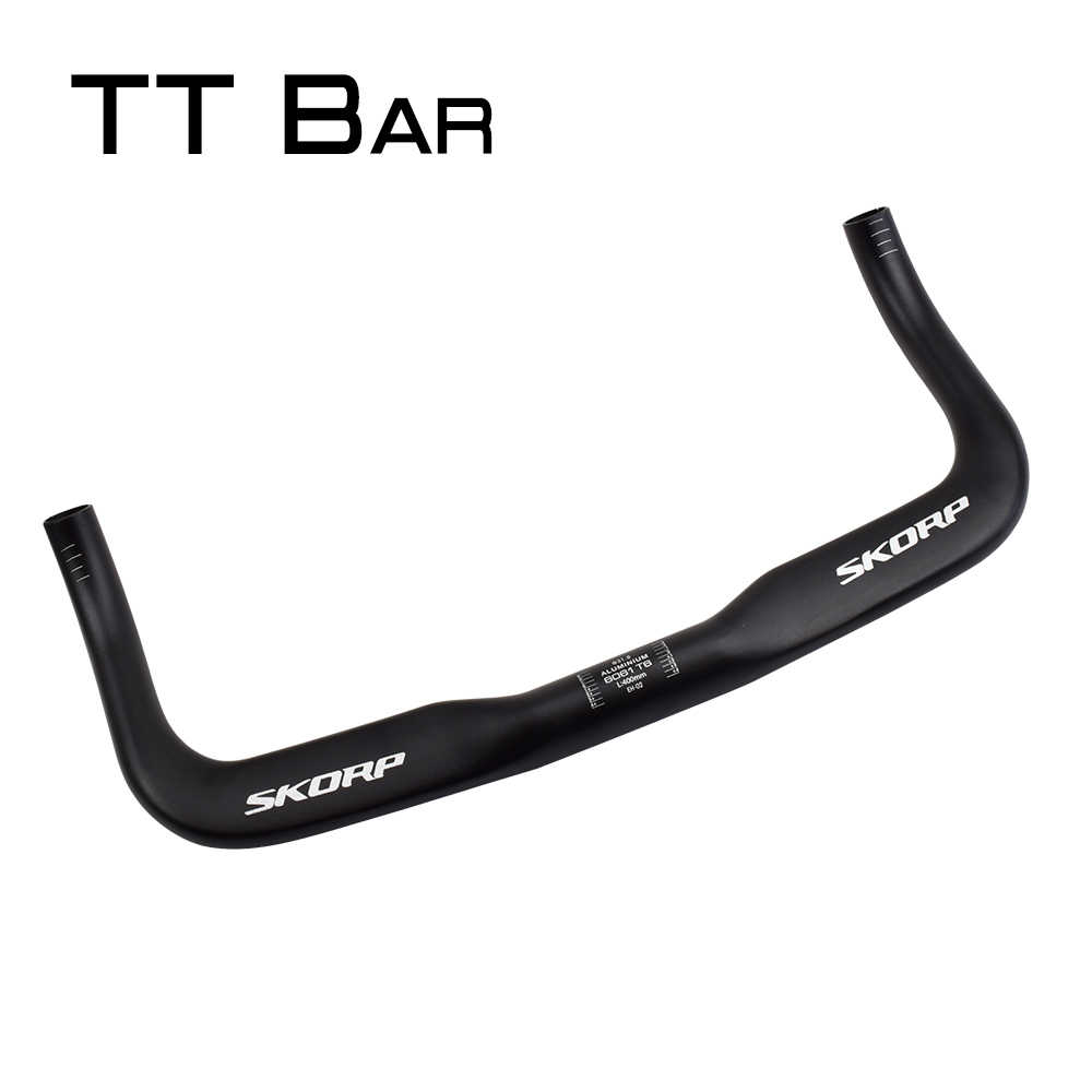 Details about  /Aluminium MTB Mountain Bike TT Base Time//Triathlon Bullhorn Handlebar 31.8*400mm