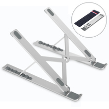 Adjustable Notebook Stand Foldable Laptop Stand For Macbook Air Pro 11 12 13 15 Portable Computer Cooling Bracket Tablet Holder