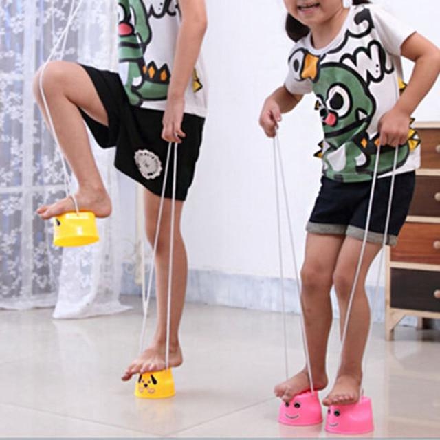 Adorable Jumping Stilts Walk Stilt Jump Outdoor Fun Sports Toy for Kids Children 1Piece 7 Colors Support Drop Shipping