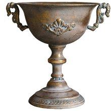 Классическая ваза для цветов с высоким горлом ретро европейский