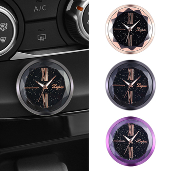Hot Car Decoration Electronic Meter Car Clock Timepiece Auto Interior Ornament Automobiles Sticker Watch Interior In Car Accesso|Orologi|   - Shop5161029 Store