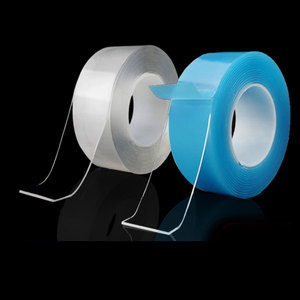 1/3/5 m Double Sided Tape Nano Reusable Transparent Super Strong Waterproof Self Adhesive Scotch Two Face Glue Stickers Plaster