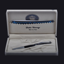 Germany Duke Bolígrafo de escritura con tinta negra para mujer, bolígrafo para rellenar, con caja Original, suministros para oficina y escuela