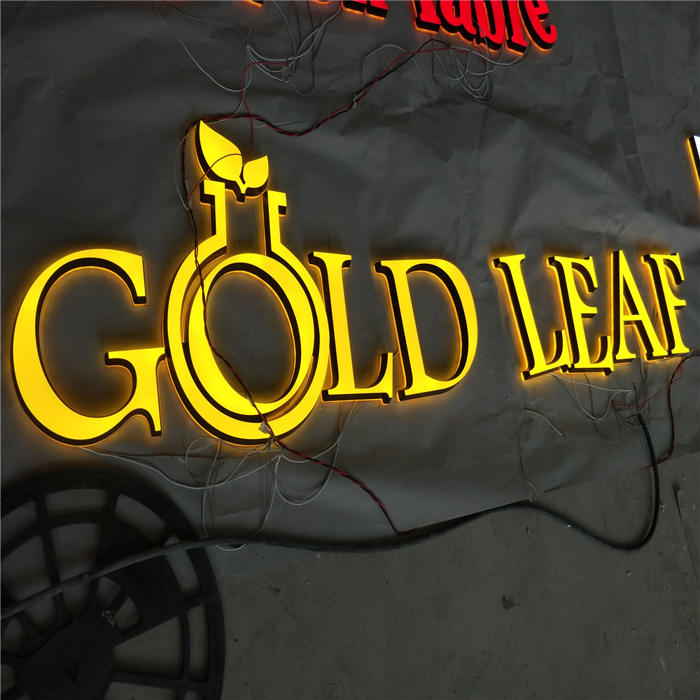 Custom Made  Mini Acrylic Led Illuminated Letters, Luminous Led Channel Letters Signs, Frontlit&backlit Acrylic Store Signs