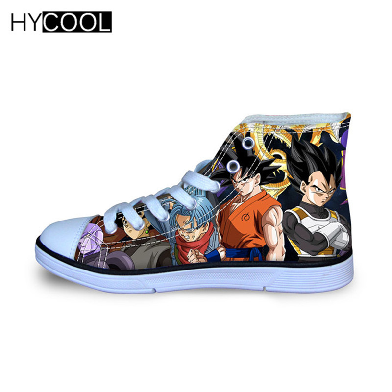 HYCOOL Anime Dragon Ball Z Shoes Kids Sneakers Childrens Shoes Kids Outdoor Shoes Sport Shoes Boys Sport Shoes For Boy Sneakers