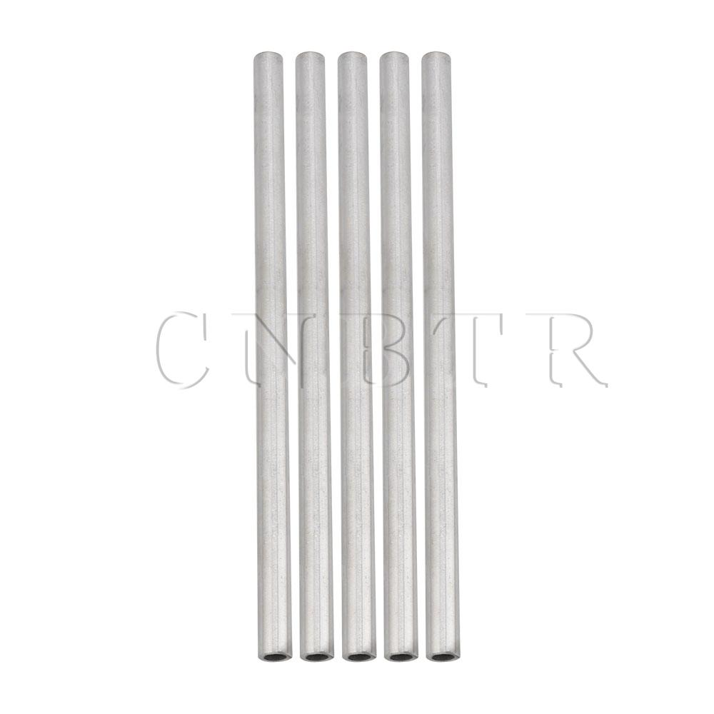 CNBTR 5 X OD 10mm ID 6mm Length 200mm 304 Stainless Steel Metal Capillary Tube