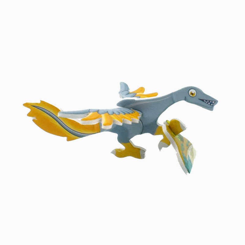 3D Dragon ปริศนากระดาษมิติประกอบสมอง Teaser การเรียนรู้เกมการศึกษาของเล่นเด็กจิ๊กซอว์ของเล่น