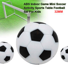 12 шт. спортивные круглые аксессуары ABS для детей мини-футбол развлечения настольный футбол набор крытый игры долговечный подарок активность
