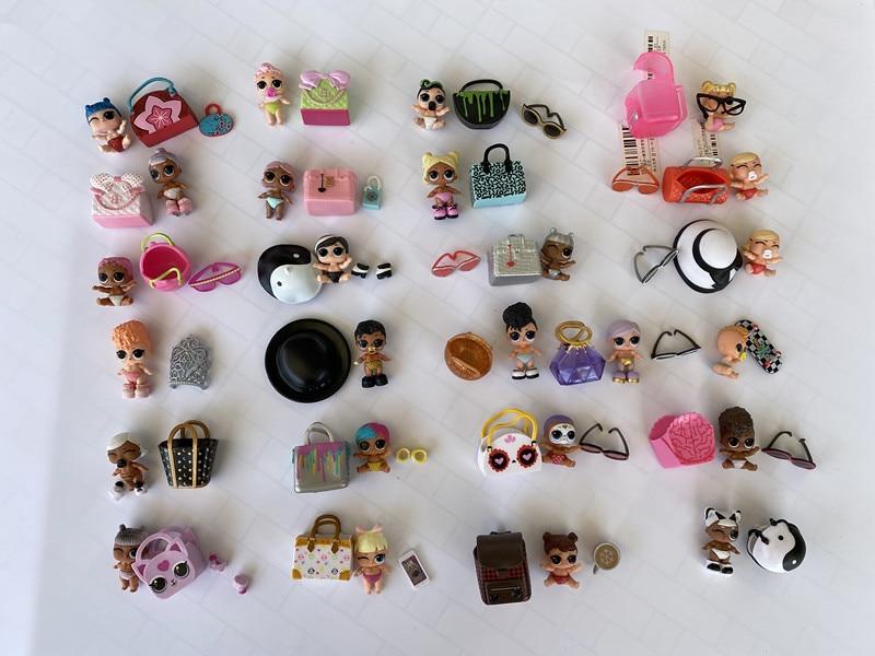 LOL Doll Surprise Original Four Generation Accessories Children's Toys Dolls Action Figure Model Girl Christmas Gift